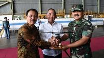 Terima 6 Pesawat untuk TNI, Menhan Banggakan Produk Dalam Negeri