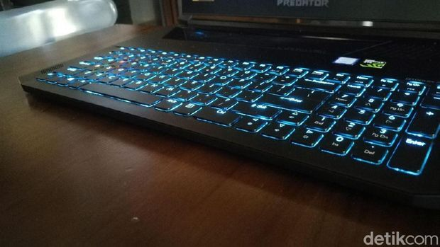 Acer Rilis Notebook Gaming Keyboard Mekanikal Tertipis