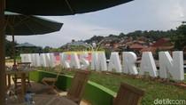 Yang Baru di Kampung Pelangi Semarang: Taman Kasmaran