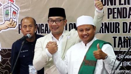Ridwan Kamil-Uu Optimistis Menang di Kota Bogor