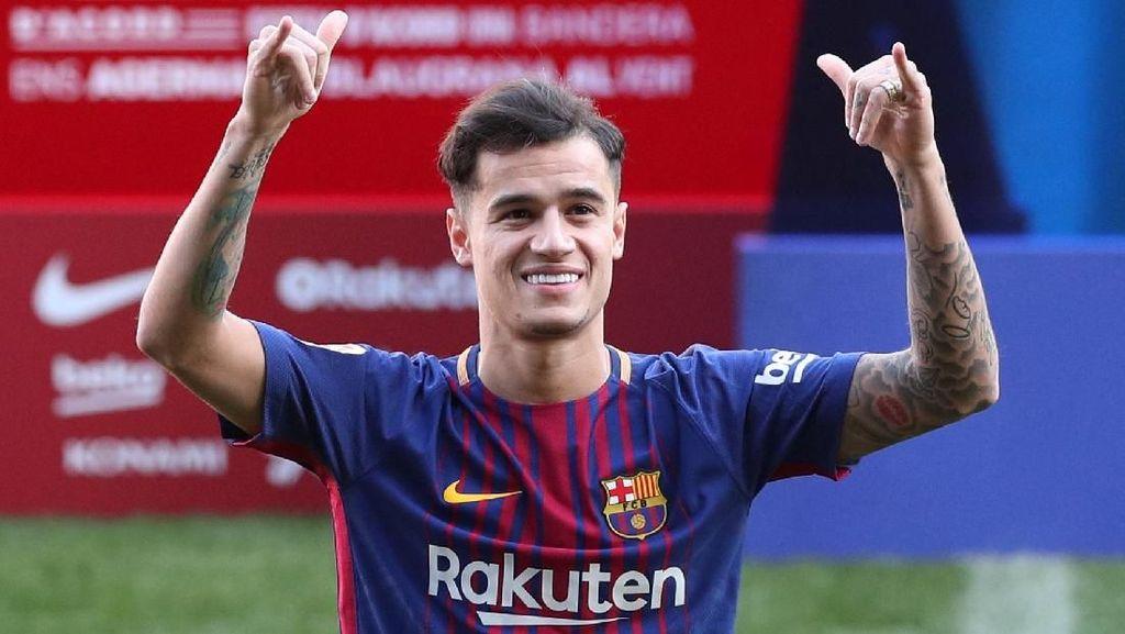 Menghitung Hari Debut Coutinho untuk Barca