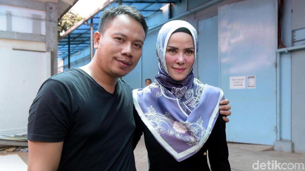 Mau Anak Kembar dari Angel Lelga, Vicky: Pokoknya Saya Gempur, Gencatan Senjata