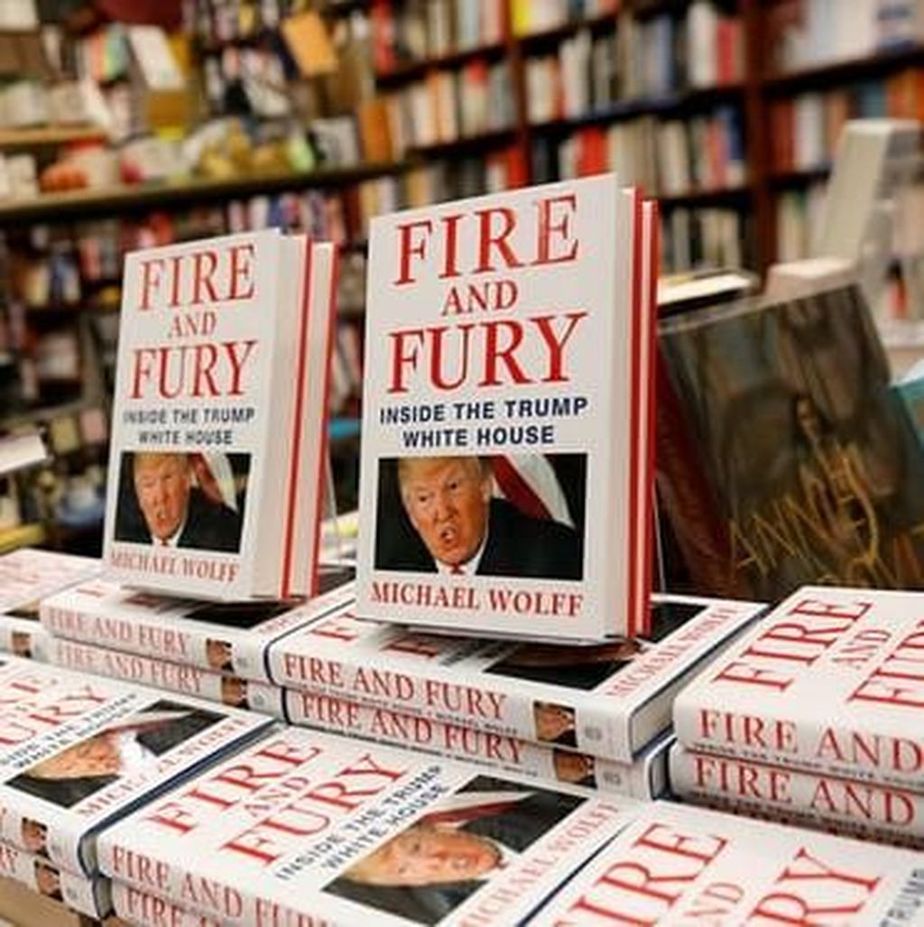 Buku Fire and Fury Laris Manis, Segera Diadaptasi ke Serial Televisi?