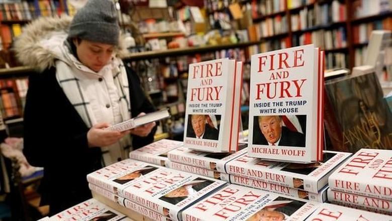 Dikecam Trump, Buku Kontroversial Fire and Fury Cetak Lagi 1 Juta Eksemplar