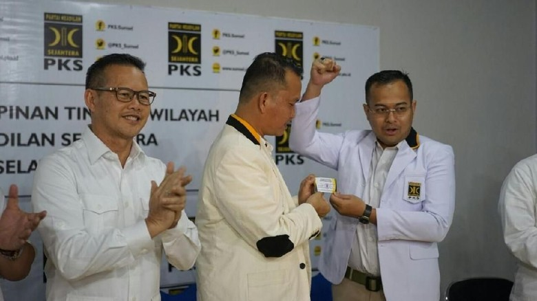 Maju Pilgub Sumsel, Wali Kota Pangkalpinang Loncat dari PDIP ke PKS