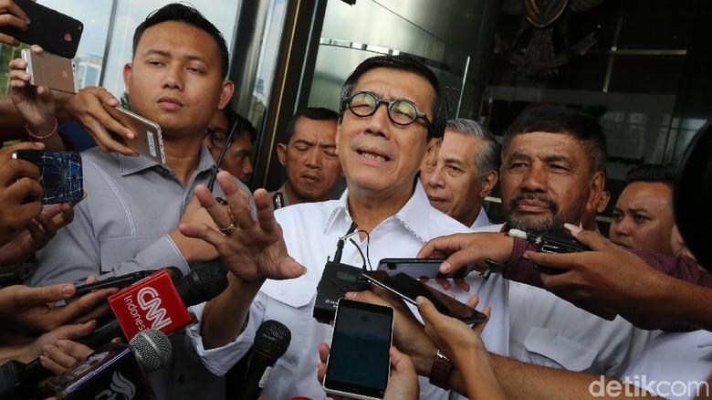 Lapor UU MD3 ke Jokowi, Menkum: Beliau Concern soal Imunitas DPR
