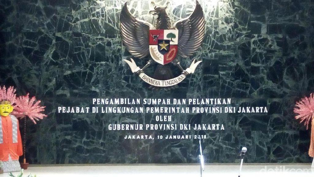 Anies akan Lantik Pejabat Baru di Lingkungan Pemprov DKI Jakarta
