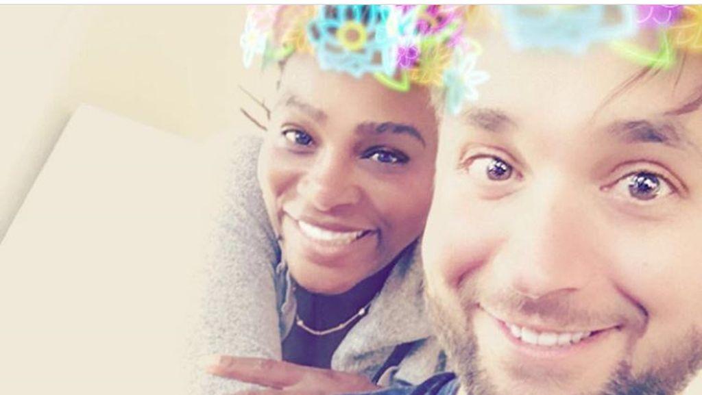 Potret Penuh Cinta Keluarga Kecil Serena Williams-Alexis Ohanian