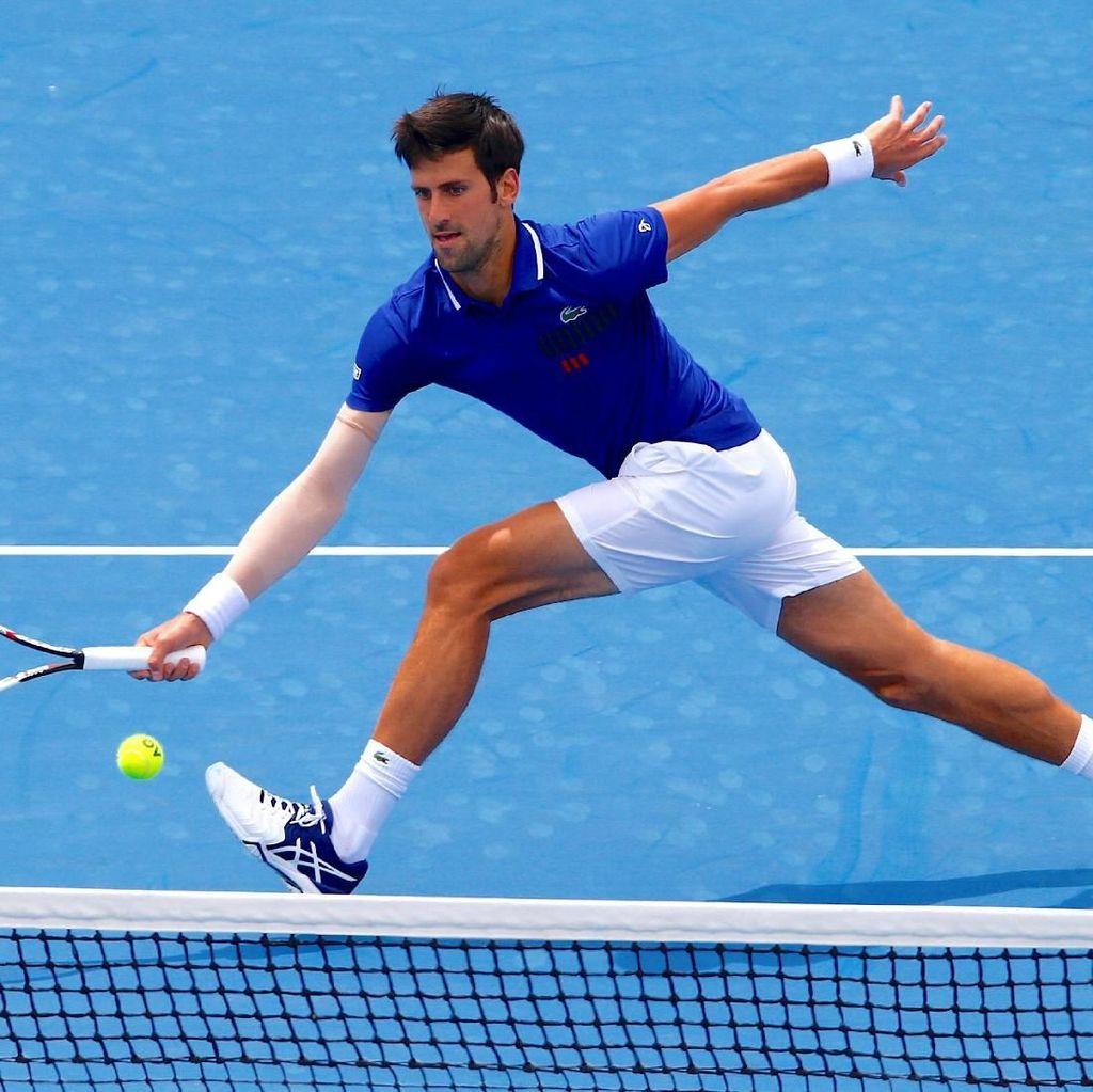Menang di Laga Comeback, Djokovic Makin Siap Hadapi Australia Terbuka