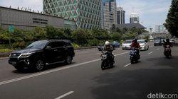 Melepas Rindu Bermotor di Jalan MH Thamrin