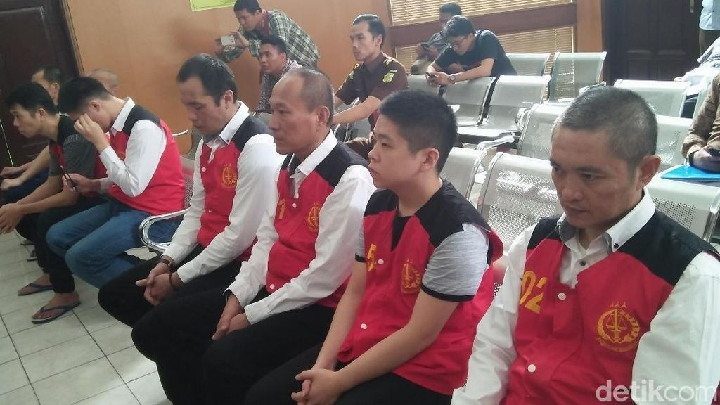 Jaksa Ancam 8 Komplotan Sabu 1 Ton dengan Hukuman Mati