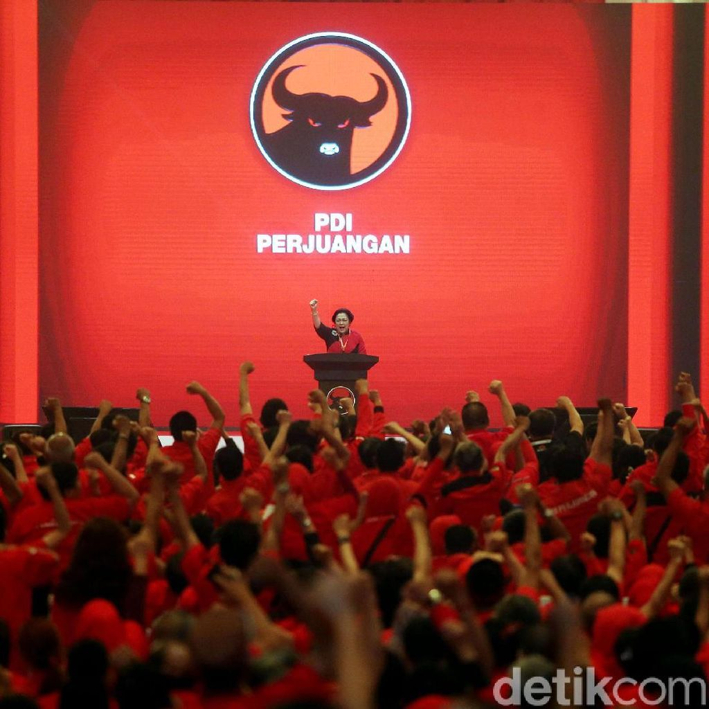 Megawati Pimpin Rapat PDIP Bahas Pilgub Sumut, Djarot-Sihar Hadir