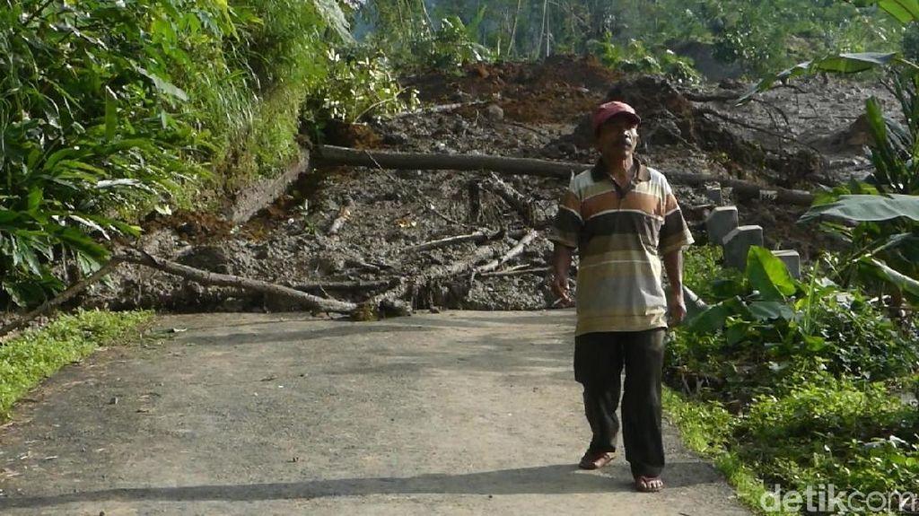 Dampak Tanah Bergerak di Banjarnegara Meluas, 450 Jiwa Mengungsi