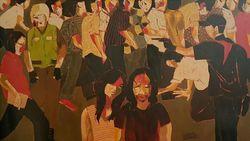 Pameran Seni Dua Kutub Hadirkan Karya Perupa Masdibyo dan Gigih Wiyono