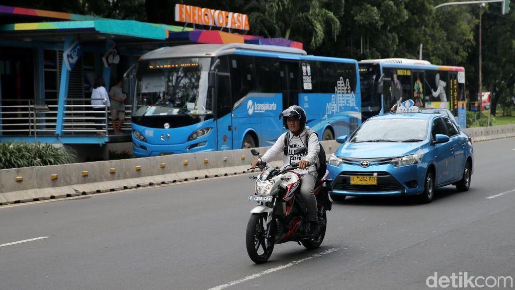 Ungkapan Senang Para Rider Ketika Boleh Melintas Lagi di Jl Thamrin