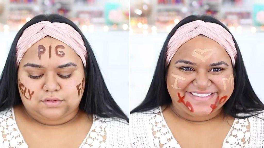 Dipanggil Babi, Beauty Vlogger Ini Balas dengan Video Tutorial yang Viral