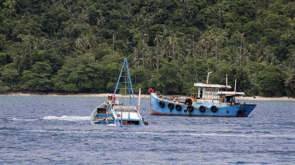 Susi Sebut Maling Ikan Marak Sejak 2001
