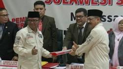 Diusung 3 Partai, Agus Numang-Tanribali Lamo Daftar Pilgub Sulsel
