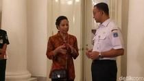 Anies Rapat Tertutup dengan Menteri Rini di Balai Kota
