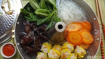 Resep Sup : Veggie Hot Pot with Fiesta Siomay