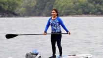 Enggak Cuma Tenggelamkan Kapal Maling Ikan, Susi Juga Sporty Lho