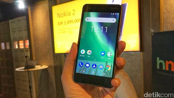 Nokia 2. Foto: Adi Fida Rahman/detikinet