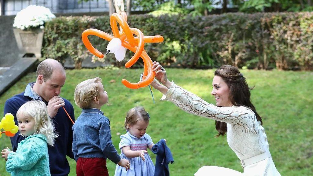 Begini Pola Asuh yang Diterapkan Pangeran William dan Kate Middleton