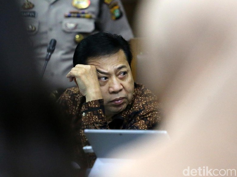 Novanto Ingin Jadi JC, Pengacara: Beda dengan Nazaruddin