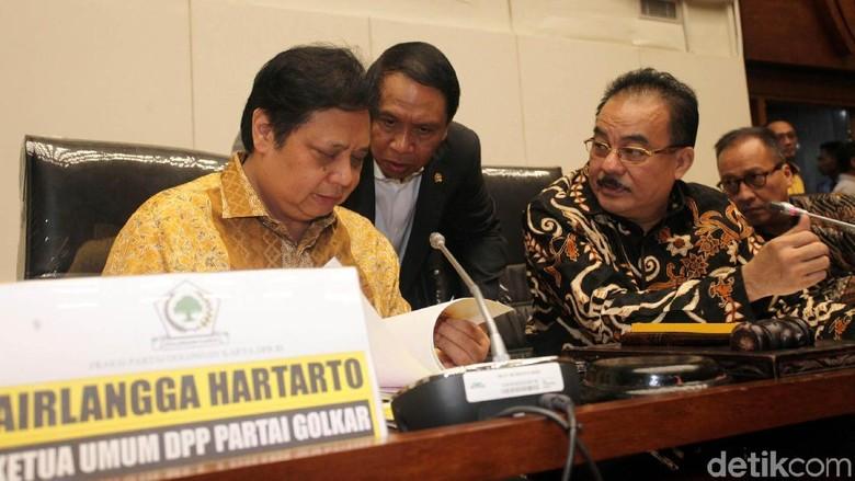 Larang F-Golkar ke Luar Negeri, Airlangga: Jaga Dapil saat Pilkada