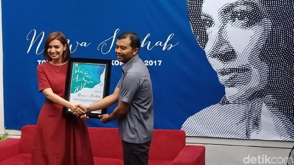 Najwa Shihab Dinobatkan ICW sebagai Tokoh Publik Antikorupsi 2017