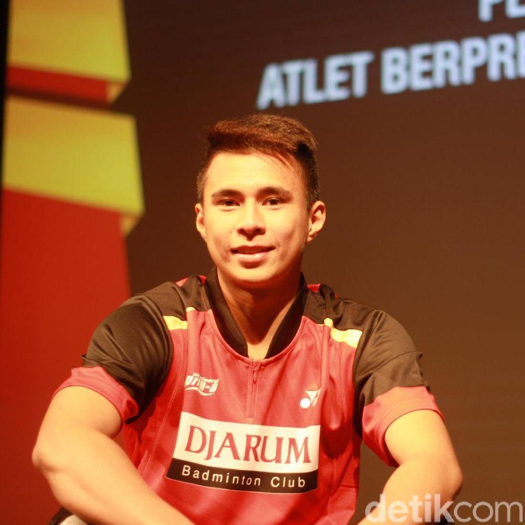 Ikhsan Rumbay Jadi Atlet Muda Terbaik PB Djarum 2017
