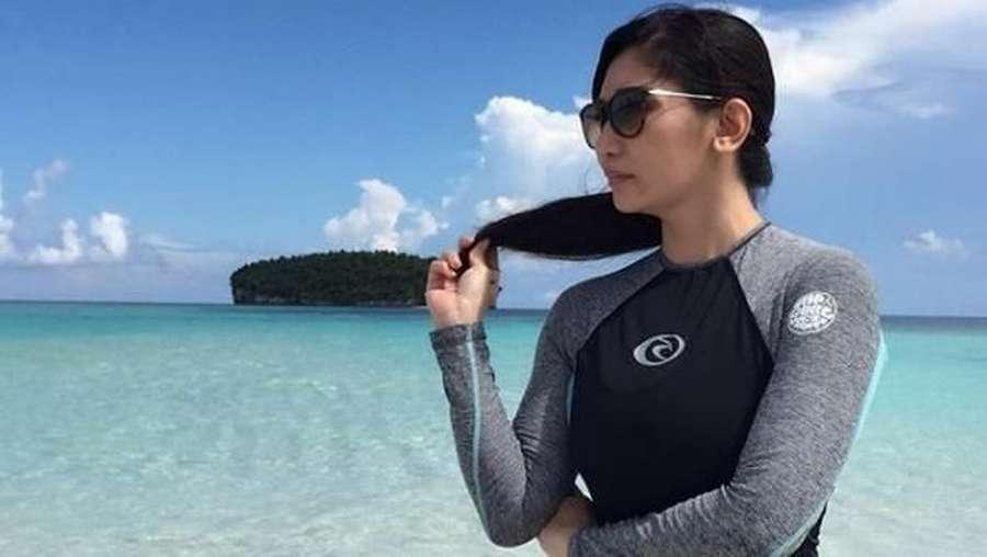 Baby Margaretha Nikmati Liburan, Bareng Pacar?