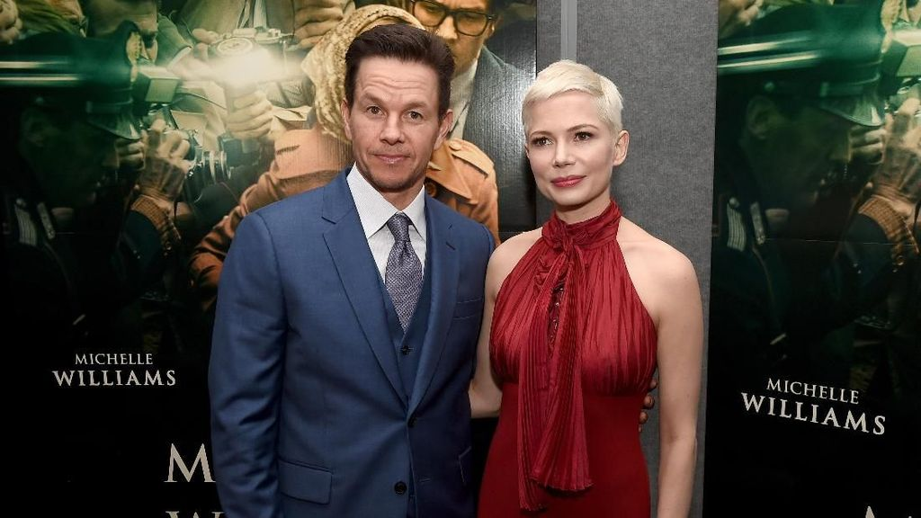 Miris, Bayaran Michelle Williams Hanya 1% dari Gaji Mark Wahlberg