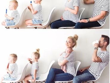 Diketahui wanita bernama Kate ini adalah seorang blogger yang rajin banget posting foto kreatif bareng keluarganya. (Foto: Instagram/kweilz)