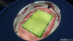 Diresmikan Besok, Ini Pujian Jokowi untuk Stadion Utama GBK
