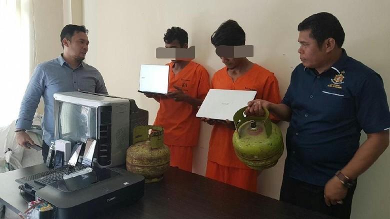 Polisi Tangkap 2 Pelaku Sindikat Pencurian di Lhokseumawe