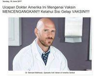 Ramai di Medsos, Meme 'Pakar Vaksin' Dr. Bernard Mahfoudz