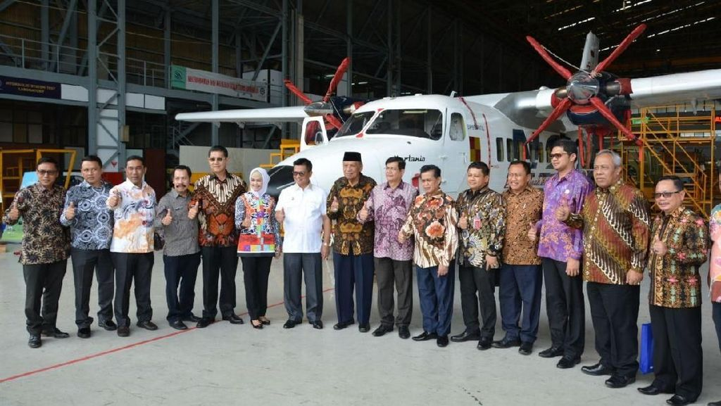 Pemprov Kaltara Minati Pesawat N219 Nurtanio Made in Bandung