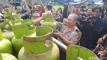 Gerebek Gudang Gas Oplosan di Tangerang, Polisi Sita Ribuan Tabung
