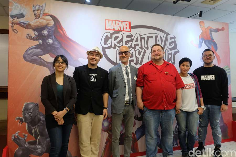 Intip Keseruan Marvel Creative Day Out 2018