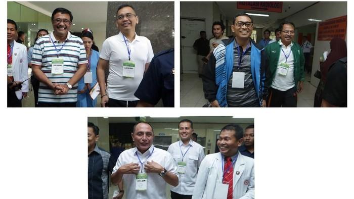 Foto: Djarot vs Edy vs JR Saragih Berebut Kursi Gubernur Sumut