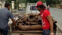 Besi 1,2 Ton Dicuri, Kakak dan Adik di Situbondo Diamankan