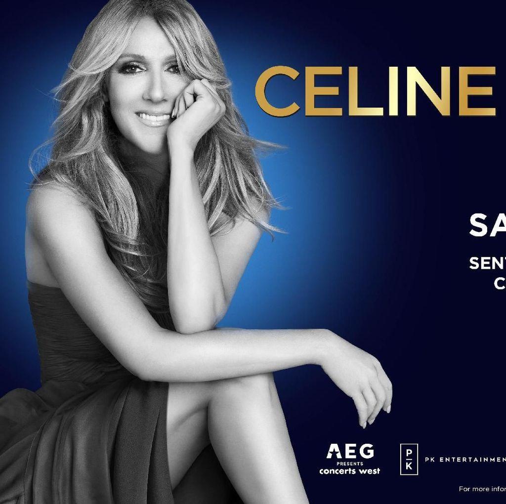 Wow! Tiket Rp 12,5 Juta Konser Celine Dion <i>Full Booked</i>