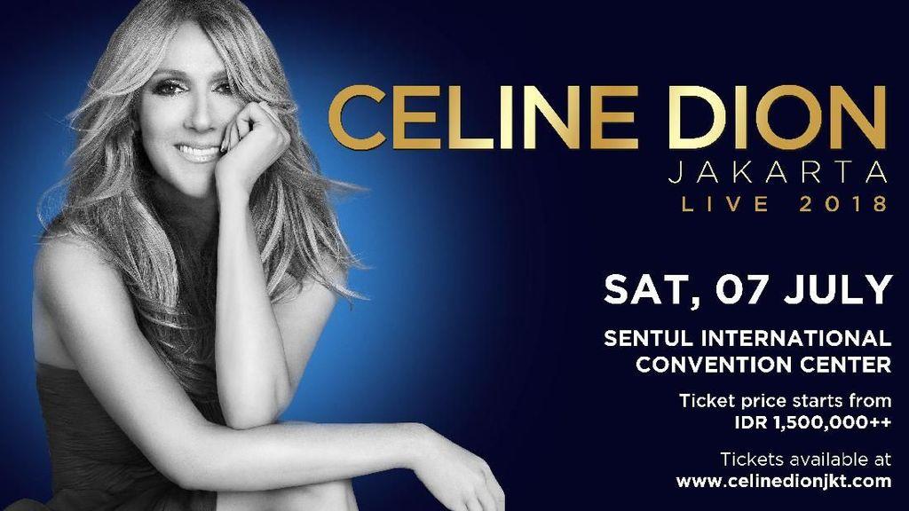 Wow! Tiket Rp 12,5 Juta Konser Celine Dion Full Booked