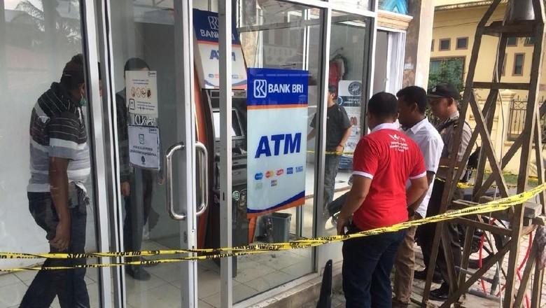 ATM di Aceh Dibobol Maling, Duit Rp 20 Juta Raib