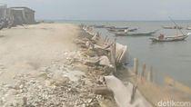 Antisipasi Banjir, Tanggul Laut Dibangun di Kampung Nelayan Kejawan