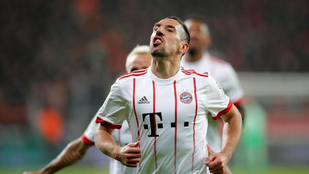 Ribery Ingin Bertahan di Bayern Musim Depan