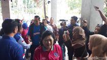 AHY dan Ani Yudhoyono Hadiri Pembagian Sembako Murah Demokrat