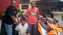 Polisi Gadungan di Bandung Ditangkap Saat Terlelap Tidur