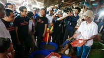 Sandi Diusulkan Ubah Kampung Pesisir Jadi Tsukiji Market di Jepang